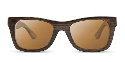 Small Wayfarer | Understated Brown Bamboo Sunglasses
