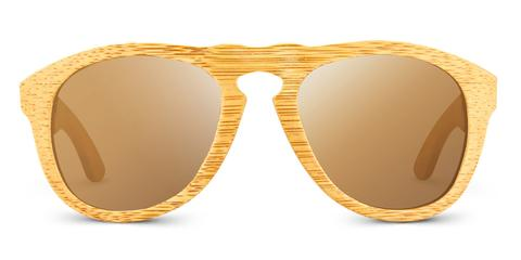Madison | Raw wooden sunglasses