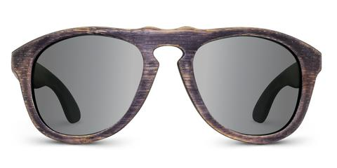 Madison | Woodgrain Black wooden sunglasses