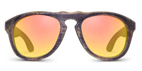 Madison | Woodgrain Blk + Amber