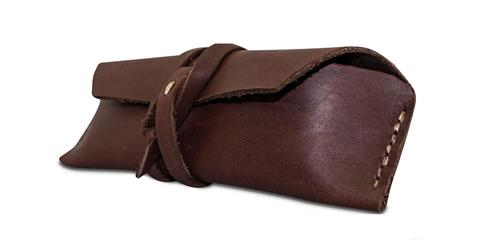 Hand Stitched Leather Pouch