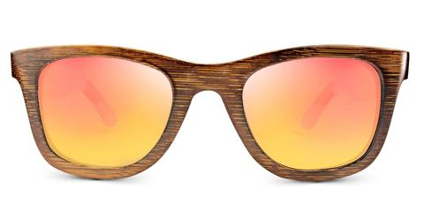 Vintage Pacific | Amber Bamboo Sunglasses